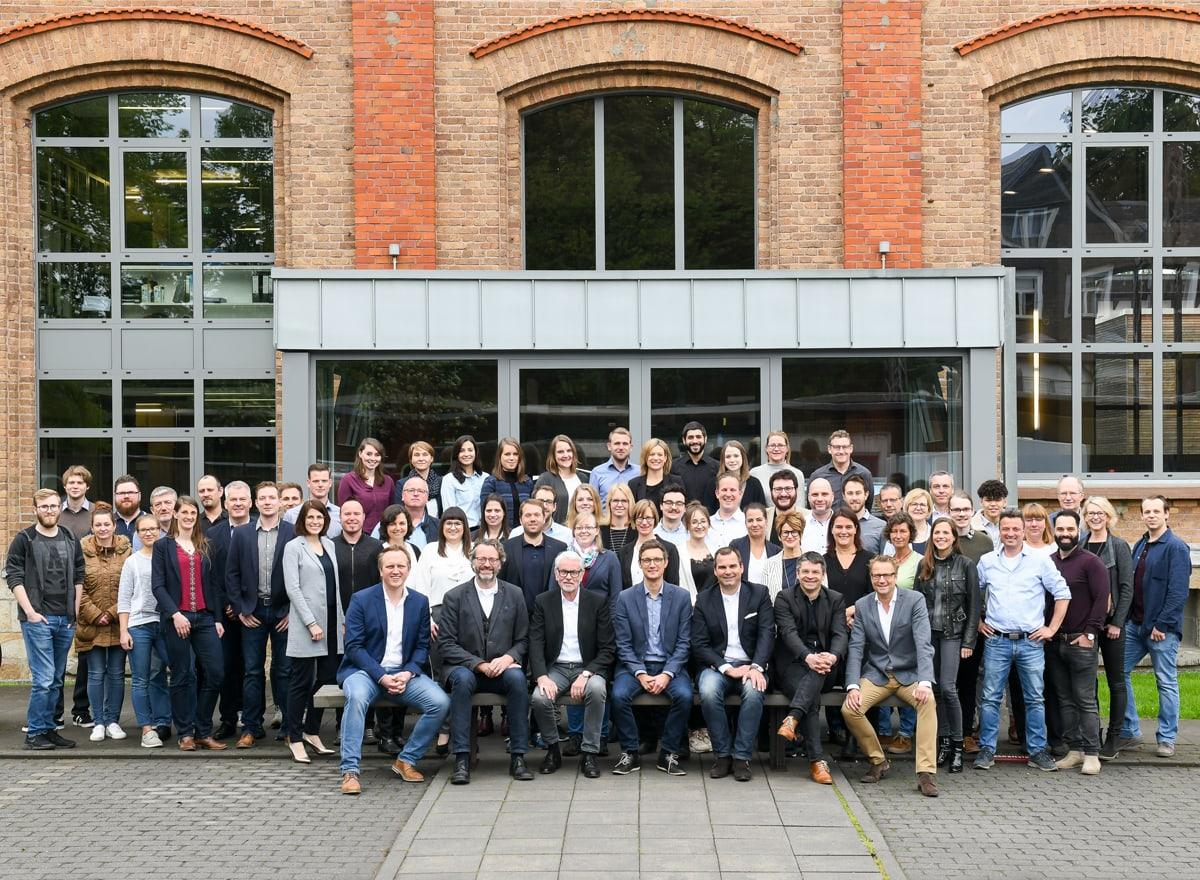 gruppenfoto der architekten und ingenieure