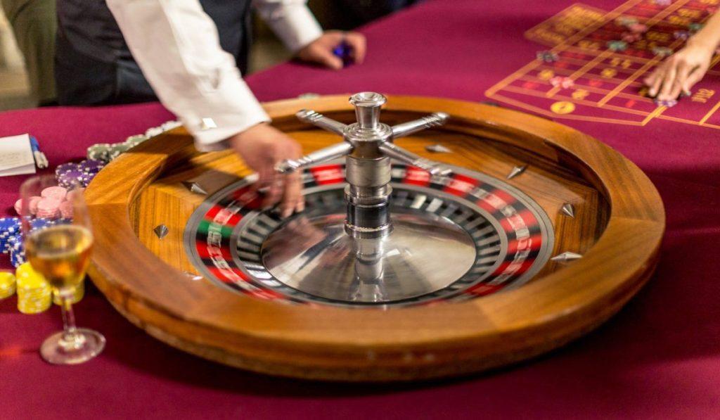 roulette am casino abend